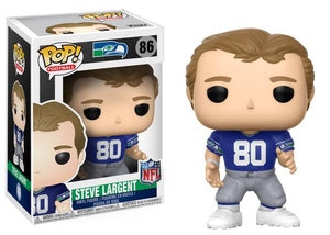 Funko POP! Football Steve Largent Vinyl Figure -  - Funko - The Pop Dungeon