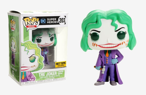 Funko POP! Heroes Joker (Martha Wayne) Vinyl Figure (Hot Topic) NEW