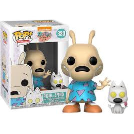Funko POP! Animation Rocko with Spunky Vinyl Figure NEW