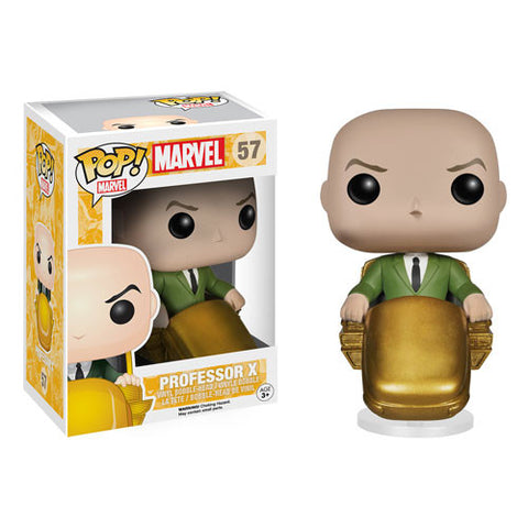 Funko POP! Marvel Professor X Vinyl Figure (VAULTED) NEW -  - The Pop Dungeon - The Pop Dungeon