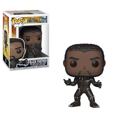 Funko POP! Marvel Black Panther (Unmasked) Vinyl Figure NEW