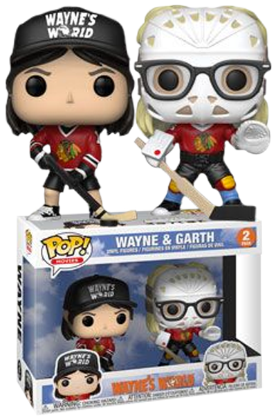 Funko POP! Movies Wayne & Garth (Hockey) Vinyl Figure (Target) NEW