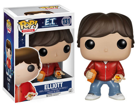 Funko POP! Movies Elliott Vinyl Figure (VAULTED) NEW