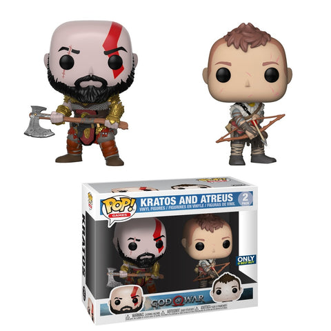 Funko POP! Games Kratos & Atreus (Best Buy) NEW