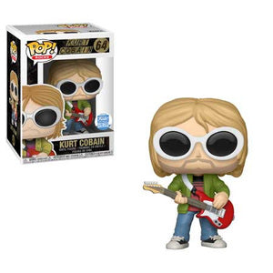 Funko POP! Rocks Kurt Cobain (Sunglasses) Vinyl Figure NEW