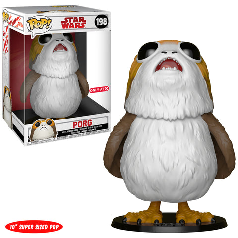 "Funko POP! Star Wars Porg (10"") Vinyl Figure (Target) NEW"