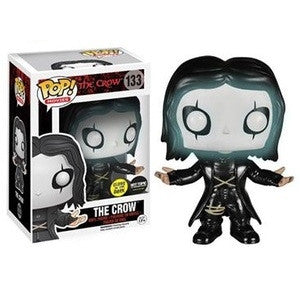 Funko POP! Movies The Crow (Glow In The Dark) Vinyl Figure (Hot Topic Exclusive) MINOR BOX DAMAGE NEW -  - The Pop Dungeon - The Pop Dungeon