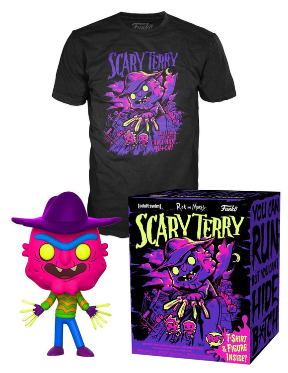 Funko POP! Animation Scary Terry Vinyl Figure (GameStop) Tee Bundle NEW -  - Funko - The Pop Dungeon