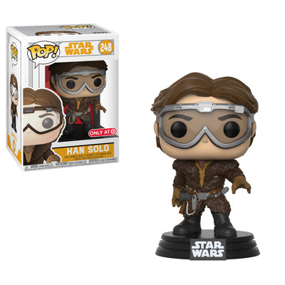 Funko POP! Star Wars Han Solo (Goggles) Vinyl Figure (Target) NEW