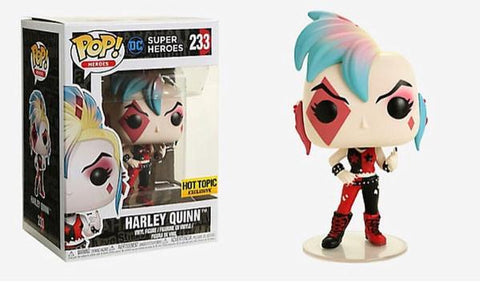 Funko POP! Heroes Harley Quinn (Skullbags) Vinyl Figure (Hot Topic) NEW
