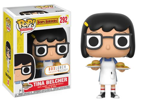 Funko POP! Animation Burger Tina (Cheeseburgers) Vinyl Figure (Box Lunch) NEW