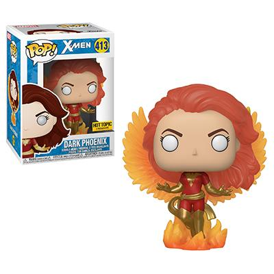 Funko POP! Marvel Dark Phoenix (Wings) Vinyl Figure (Hot Topic) NEW