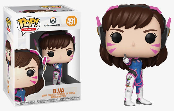 Funko POP! Games D.Va Vinyl Figure NEW