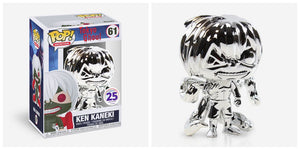 Funko POP! Animation Ken Kaneki (Chrome) Vinyl Figure (Funimation) NEW - Default type - Funko - The Pop Dungeon