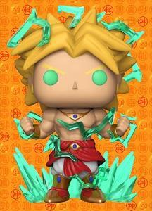 Funko POP! Animation Super Saiyan Broly Vinyl Figure (Galactic Toys) NEW