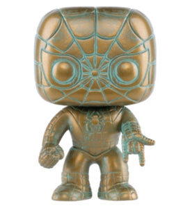 Funko POP! Marvel Spider-Man (Patina) Vinyl Figure (Target) NEW