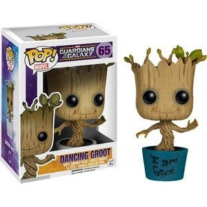 Funko POP! Marvel Dancing Groot Vinyl Figure (Hot Topic Exclusive) NEW -  - The Pop Dungeon - The Pop Dungeon