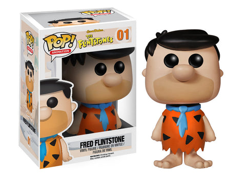 Funko POP! Animation Fred Flintstone Vinyl Figure (VAULTED) NEW