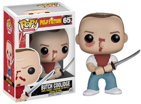 Funko POP! Movies Butch Coolidge Vinyl Figure (VAULTED) NEW