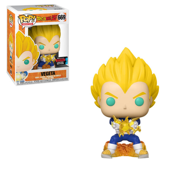 Funko POP! Animation Vegeta (Final Flash)  Vinyl Figure (Fall Convention) NEW