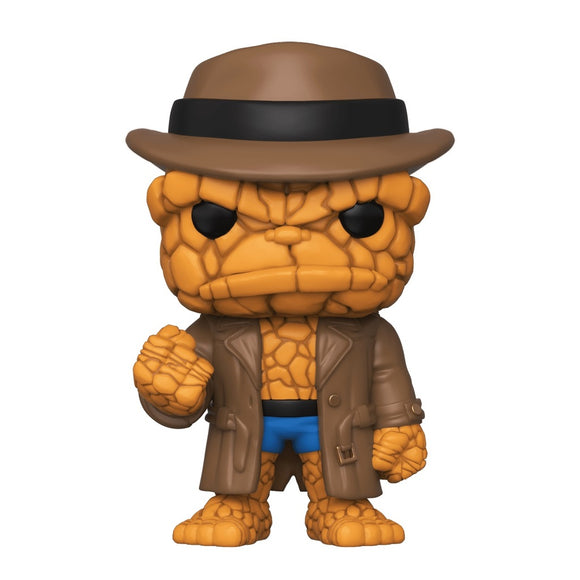 Funko POP! Marvel The Thing (Hat) Vinyl Figure (Barnes & Noble) NEW