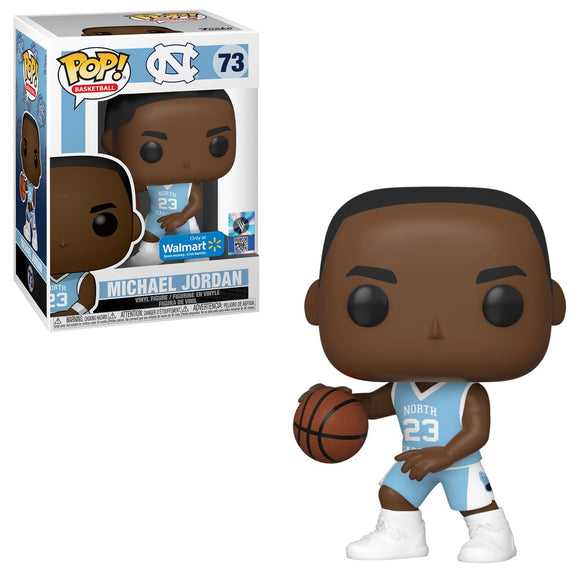 Funko POP! Basketball Michael Jordan (UNC) Vinyl Figure (Walmart) New