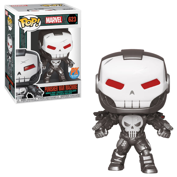 Punisher War Machine Funko POP! Marvel Vinyl Figure (PX) NEW