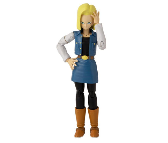 Android 18 Dragon Ball Stars Action Figure