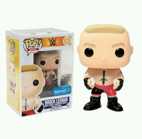 Funko POP! WWE Brock Lesnar Vinyl Figure (Walmart) NEW