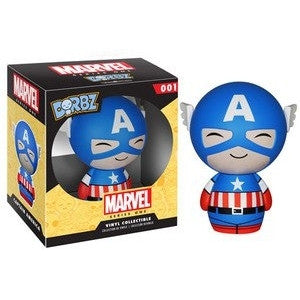 Dorbz Captain America Vinyl Figure -  - The Pop Dungeon - The Pop Dungeon