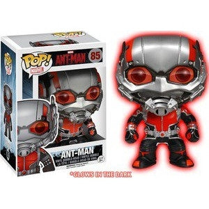 Funko POP! Marvel Ant-Man Vinyl Figure Glow In The Dark (Hot Topic Exclusive) -  - The Pop Dungeon - The Pop Dungeon