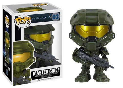 Funko POP! Games Master Chief Vinyl Figure (VAULTED) NEW -  - The Pop Dungeon - The Pop Dungeon