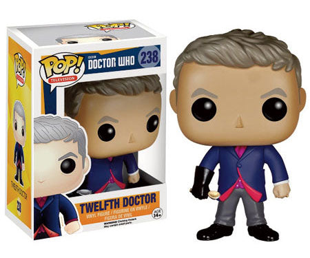 Funko POP! Television Twelfth Doctor (w/ Spoon) Vinyl Figure (Hot Topic) NEW