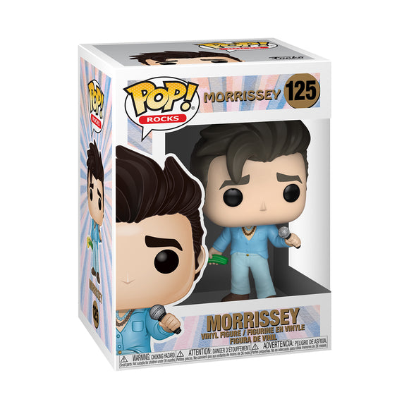 Funko POP! Rocks Morrissey Vinyl Figure NEW