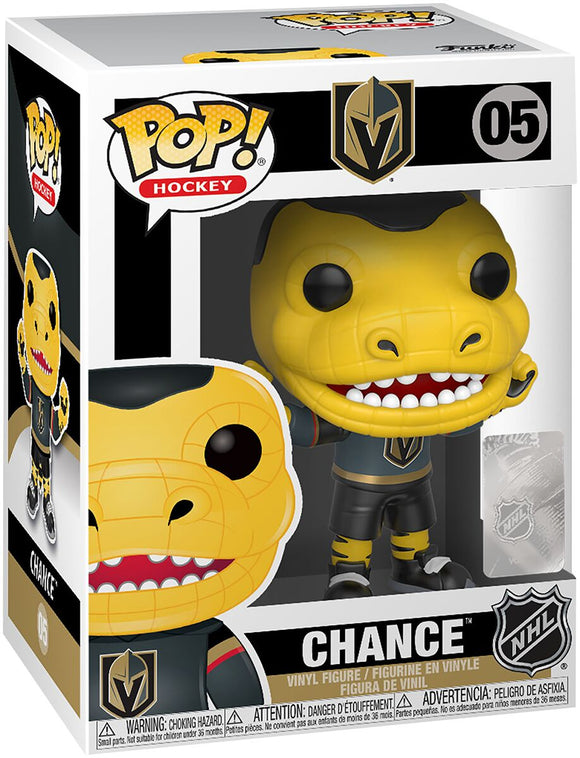 Funko POP! Hockey Chance Gila Monster Vinyl Figure Vegas Golden Knights NEW