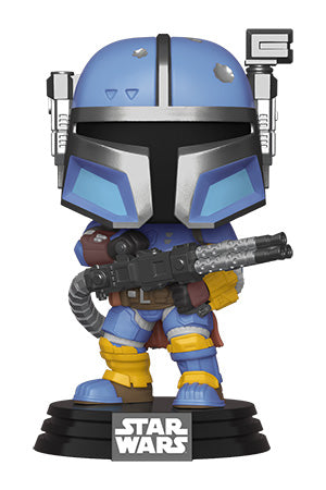 Funko POP! Star Wars The Mandalorian Heavy Infantry Vinyl Figure NEW