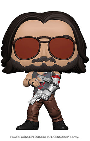 Funko POP! Games Johnny Silverhand (Guns) Vinyl Figure NEW