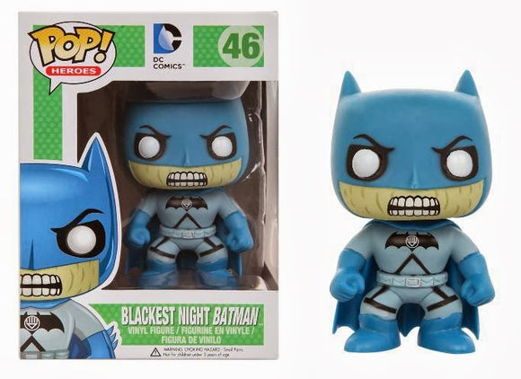 Funko POP! Heroes Blackest Night Batman Vinyl Figure (VAULTED) NEW -  - Funko - The Pop Dungeon