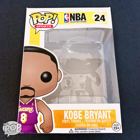 Kobe Bryant #24 (8 Purple Jersey) Replacement Box