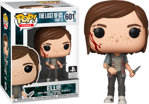 The Last of Us Part II Ellie Funko POP! Games NEW *BOX DAMAGE