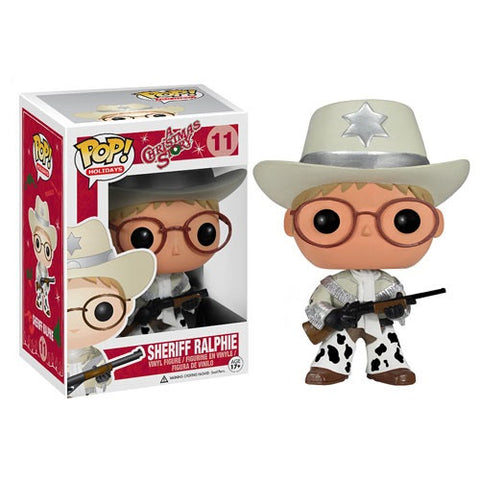 Funko POP! Holidays Sheriff Ralphie Vinyl Figure (VAULTED) NEW -  - The Pop Dungeon - The Pop Dungeon