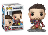 Iron Man Funko POP! Avengers Endgame (GITD) Vinyl Figure (PX) NEW