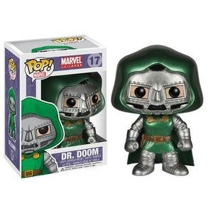 Funko POP! Marvel Dr. Doom (Metallic) Vinyl Figure (Convention Exclusive) -  - The Pop Dungeon - The Pop Dungeon
