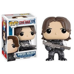 Funko POP! Marvel Winter Soldier Vinyl Figure -  - The Pop Dungeon - The Pop Dungeon