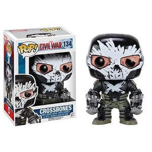 Funko POP! Marvel Crossbones Vinyl Figure -  - The Pop Dungeon - The Pop Dungeon