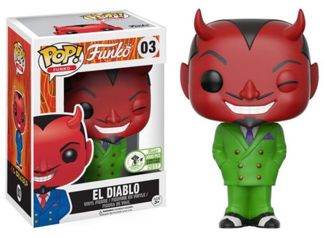 POP! Funko El Diablo Vinyl Figure (ECCC Exclusive) NEW -  - The Pop Dungeon - The Pop Dungeon