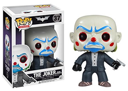 Funko POP! Heroes Joker (Bank Robber) Vinyl Figure (VAULTED) NEW -  - The Pop Dungeon - The Pop Dungeon