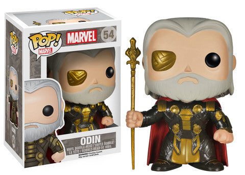 Funko POP! Marvel Odin Vinyl Figure (VAULTED) NEW -  - The Pop Dungeon - The Pop Dungeon