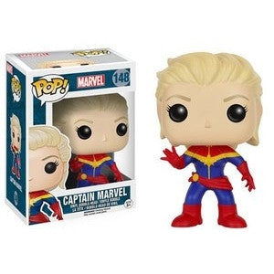 Funko POP! Marvel Captain Marvel Vinyl Figure -  - The Pop Dungeon - The Pop Dungeon