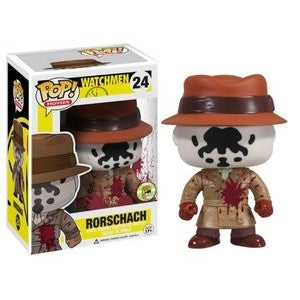 Funko POP! Movies Rorschach (Bloody) Vinyl Figure (2013 SDCC Exclusive) NEW -  - The Pop Dungeon - The Pop Dungeon